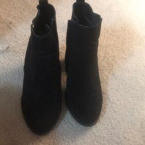 Express short heeled boot.